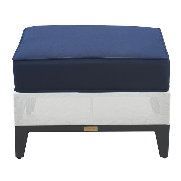 Hampton Outdoor Ottoman with Cushion by Tommy Hilfiger