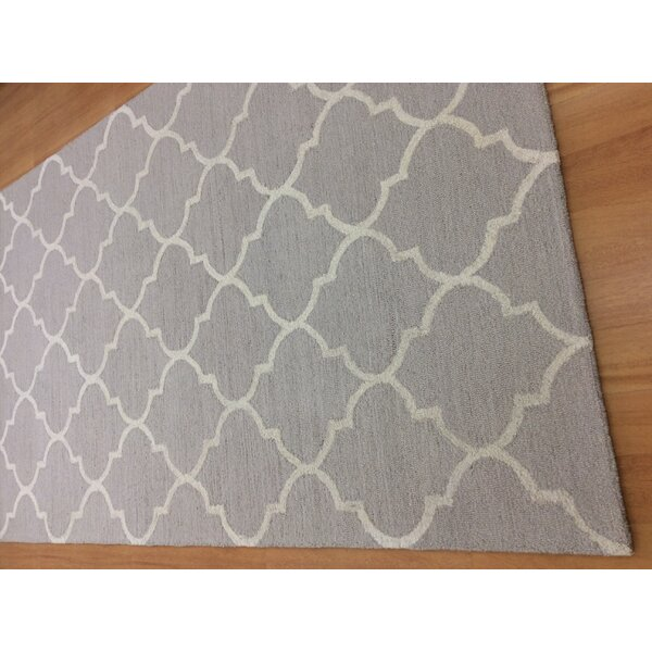 Hand-Woven Gray/Ivory Area Rug by Eastern Weavers