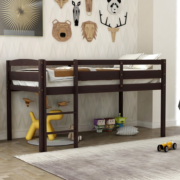 Kestrel Twin Loft Bed by Harriet Bee Harriet Bee