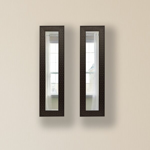 2 Piece Hillen Panels Mirror Set (Set of 2) by Winston Porter