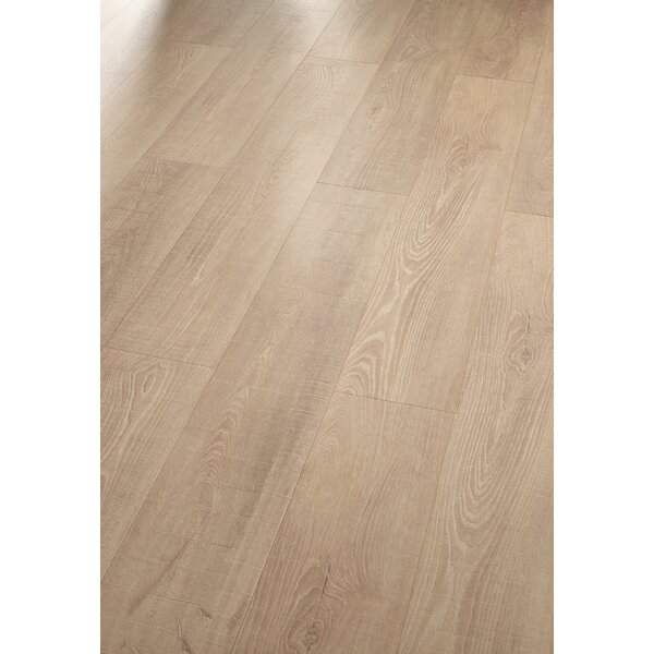 HydroCork 6 Hardwood Flooring in Sawn Bisque Oak by Wicanders