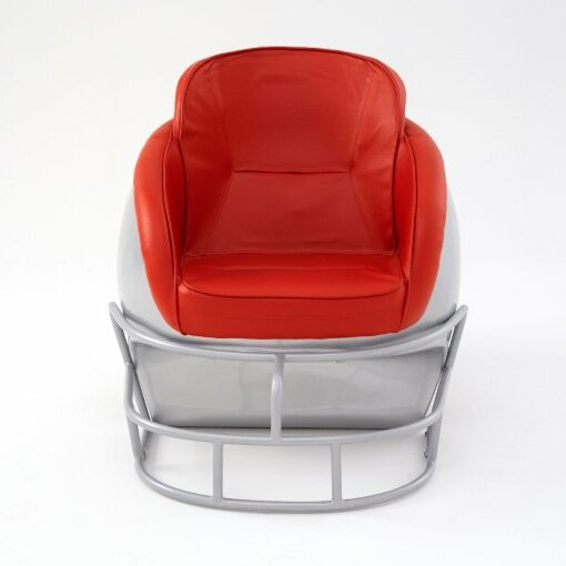 NCAA Ohio State University Football Helmet Leather Lounge Chair by Butt'N Head