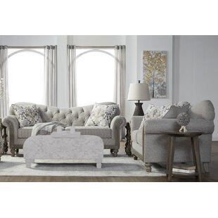 Larrick Tufted Fabric Living Room Set by Ophelia & Co.