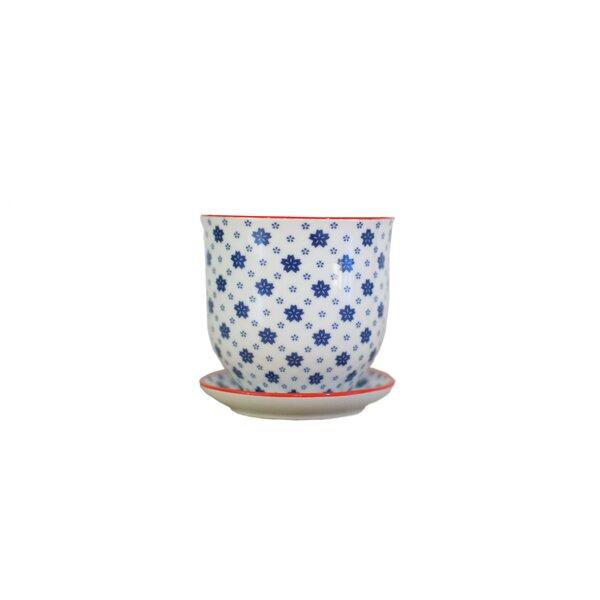 Blackwelder Ceramic Pot Planter by Alcott Hill