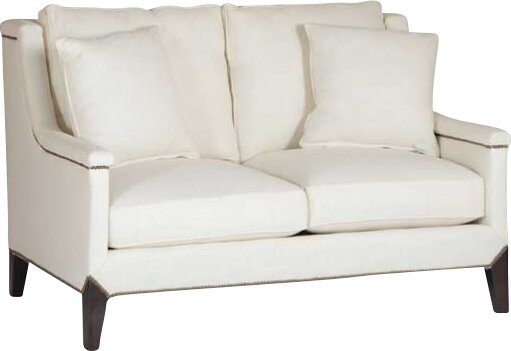Liam Capped Arm Loveseat by Gabby