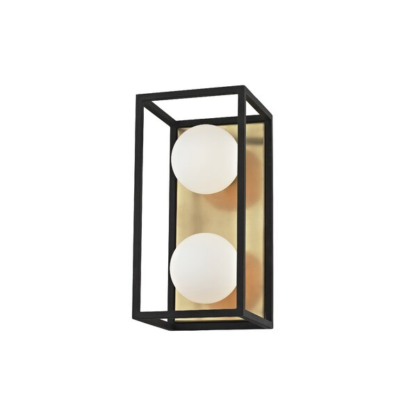 Garza 2-Light Bath Sconce by Brayden Studio
