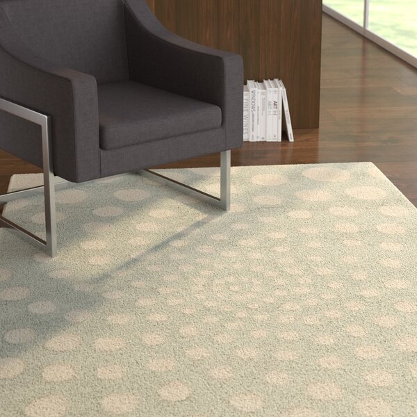Holder Gray Area Rug by Ebern Designs