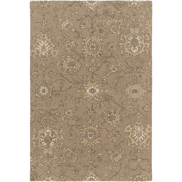 Langport Hand-Tufted Brown Area Rug by Alcott Hill