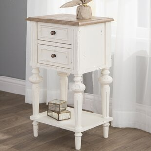Best Price Saire Indoor 2 Drawer End Table ByLaurel Foundry Modern Farmhouse