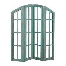 Ingleside 72 x 66 Ingleside 4 Panel Room Divider by Rosecliff Heights