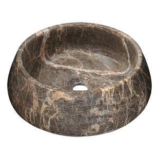 Online Reviews Vestal Crown Stone Circular Vessel Bathroom Sink By ANZZI