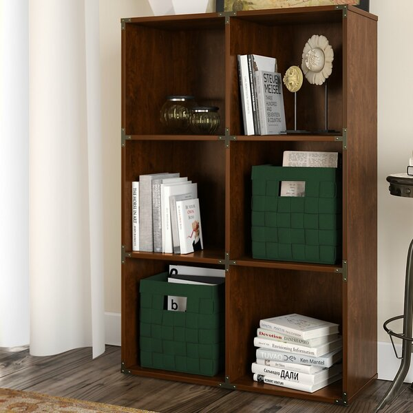 Ironworks Cube Bookcase By Kathy Ireland Home By Bush Furniture