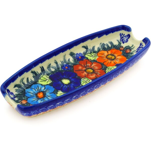 Butterfly Splendor Platter by Polmedia