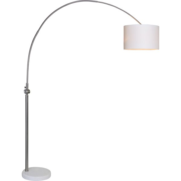 Devitt 83 Arched Floor Lamp by Corrigan Studio