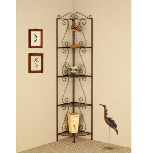Bensley Corner Unit Bookcase by Fleur De Lis Living
