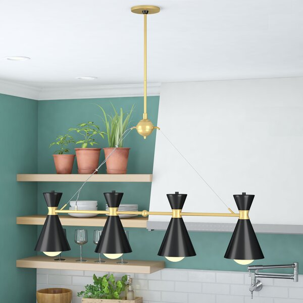 April 4-Light Kitchen Island Pendant by Langley Street
