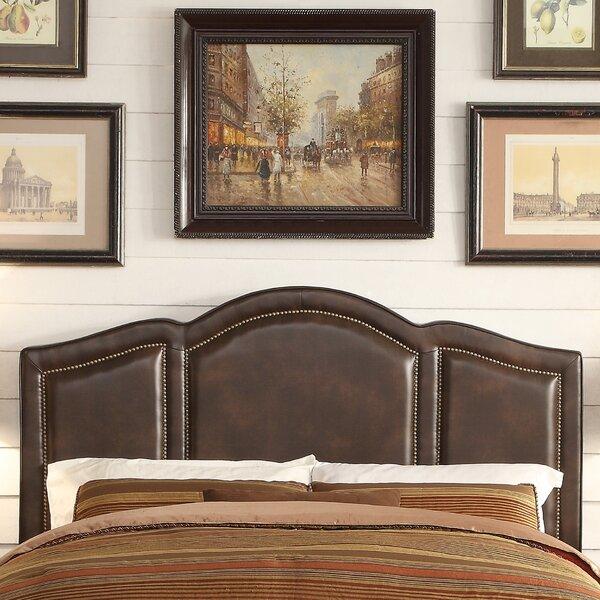 Belpre Queen Upholstered Panel Headboard by Gracie Oaks Gracie Oaks