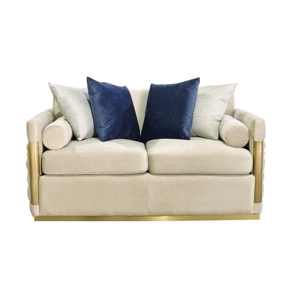 Brilliant Norwell Standard Loveseat By Everly Quinn Great Reviews Pabps2019 Chair Design Images Pabps2019Com