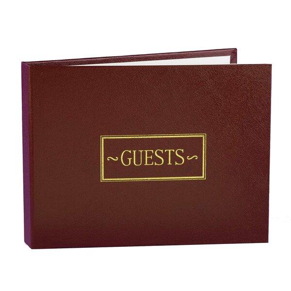 Small Guest Book by Hortense B Hewitt