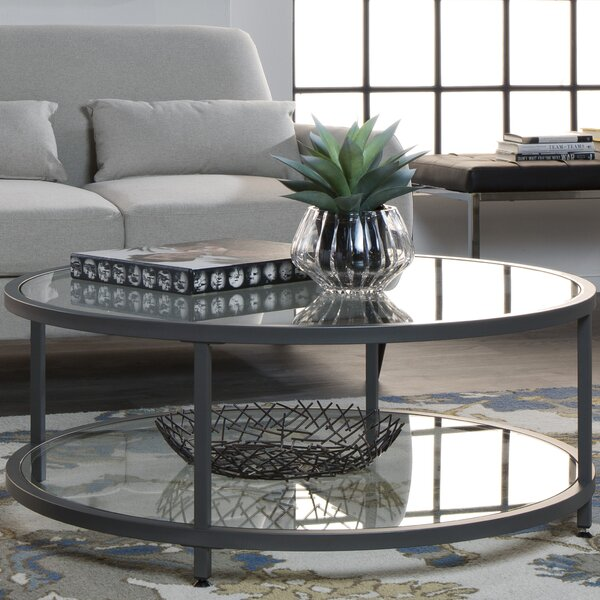Camber Floor Shelf Coffee Table By Studio Designs HOME