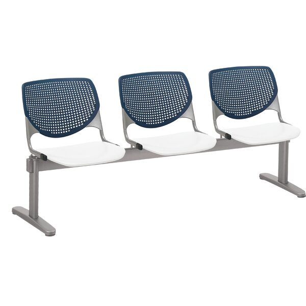 Lundell 3 Chair Beam Seating by Latitude Run