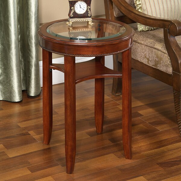 Asheville Glass End Table By Darby Home Co