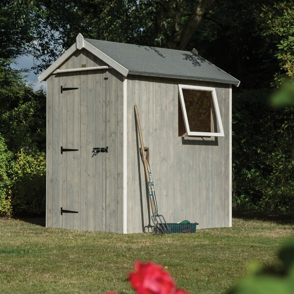 Heritage 3.19 ft. W x 6.41 ft. D Storage Shed by Rowlinson