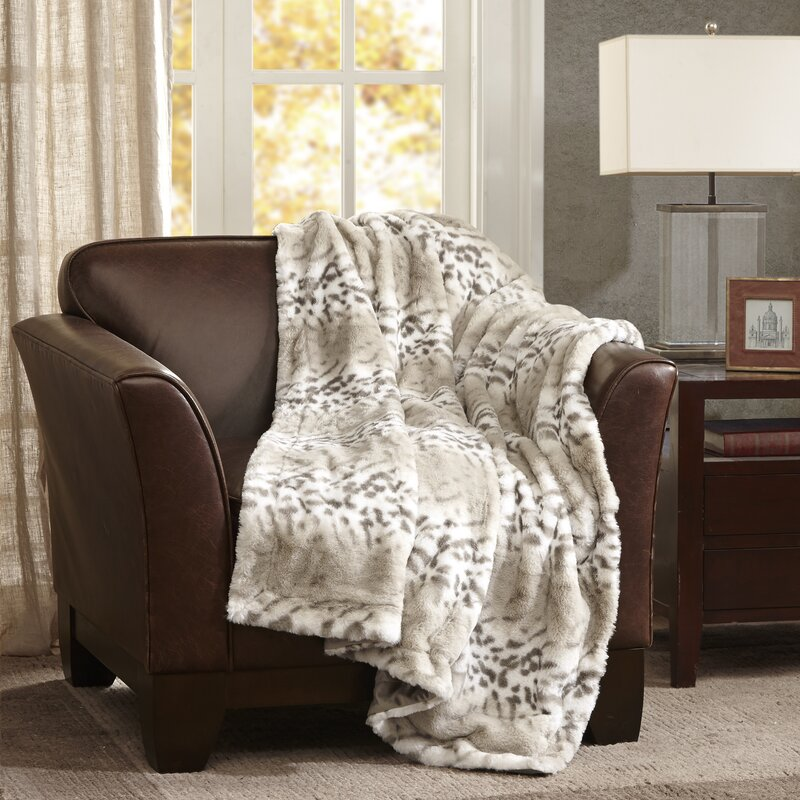 Luxury Faux Fur Throw Blanket