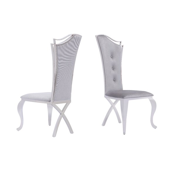 Lunenburg Upholstered Dining Chair (Set of 2) by Everly Quinn