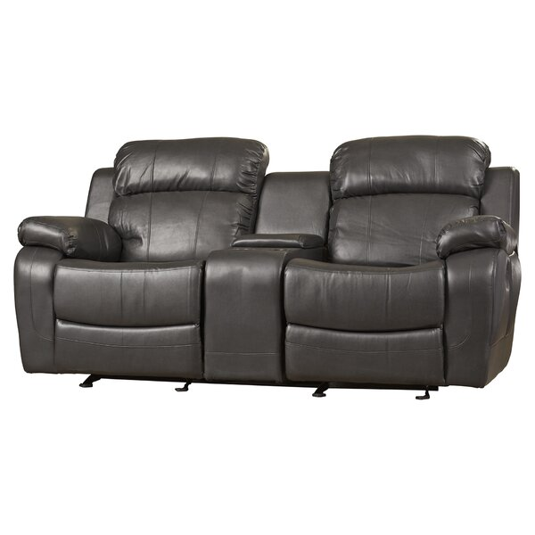 Hall Glider Reclining Loveseat by Darby Home Co