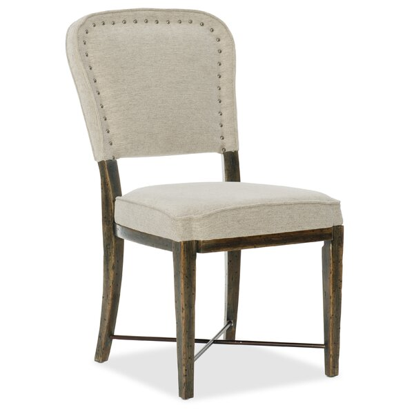 Crafted Upholstered Dining Side Chair (Set of 2) by Hooker Furniture Hooker Furniture