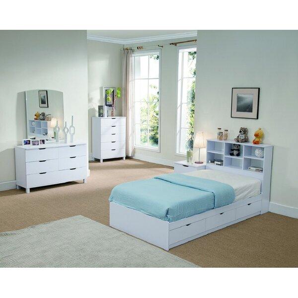 Ordell Creative Storage Platform Bed by Latitude Run