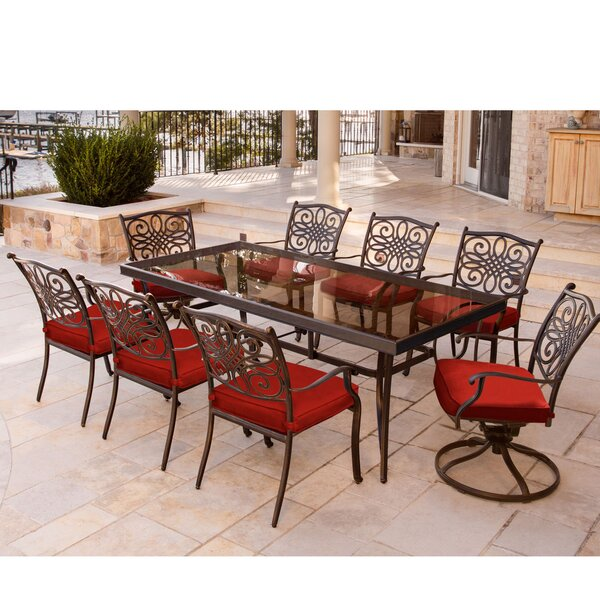 Bodie Traditions 9 Piece Dining Set by Astoria Grand