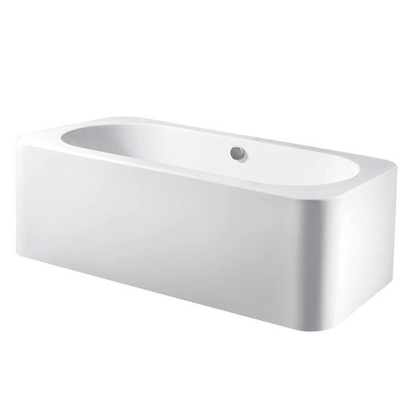 Aqua Eden 71 x 31.5 Soaking Bathtub by Kingston Brass