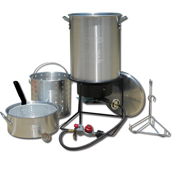 Frying and Boiling Package with 2 Pots by King Kooker