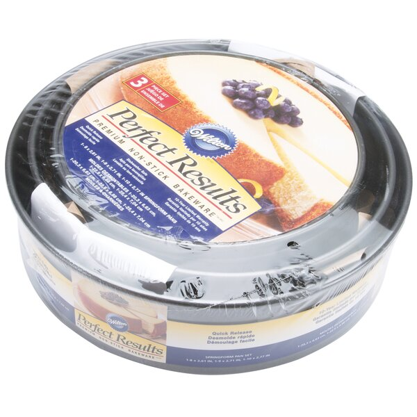 3 Piece Non-Stick Preferred Spring form Set by Wilton