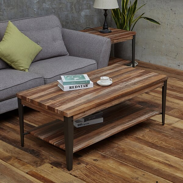 Whatley Coffee Table with Storage by Williston Forge