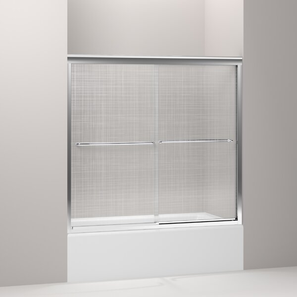 Fluence 57 x 55.75 Bypass Bath Door with CleanCoat® Technology by Kohler