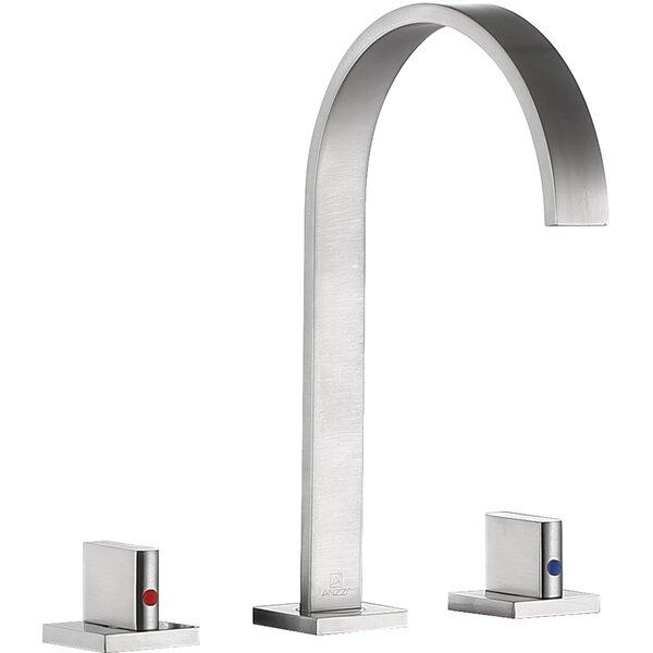 Sabre Double Handle Widespread Bathroom Faucet by