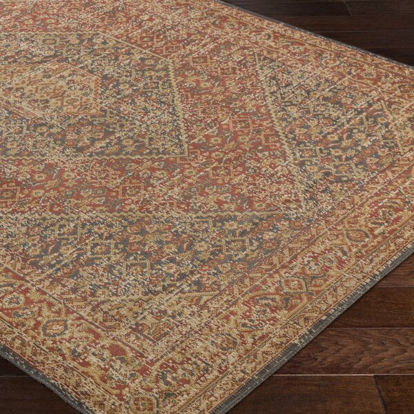 Cerys Eclectic Brown Area Rug by Bloomsbury Market