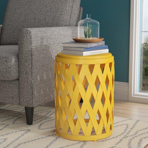 Ramiro Modern Indoor Iron End Table by Wrought Studio