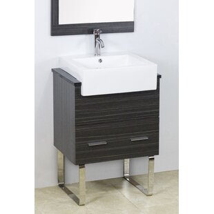 Mulberry Floor Mount 23 Single Bathroom Vanity Set