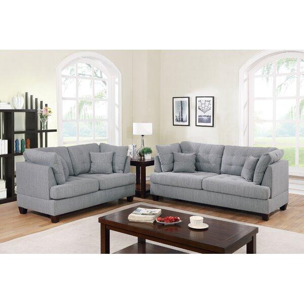 Gleeson 2 Piece Living Room Set By Ebern Designs