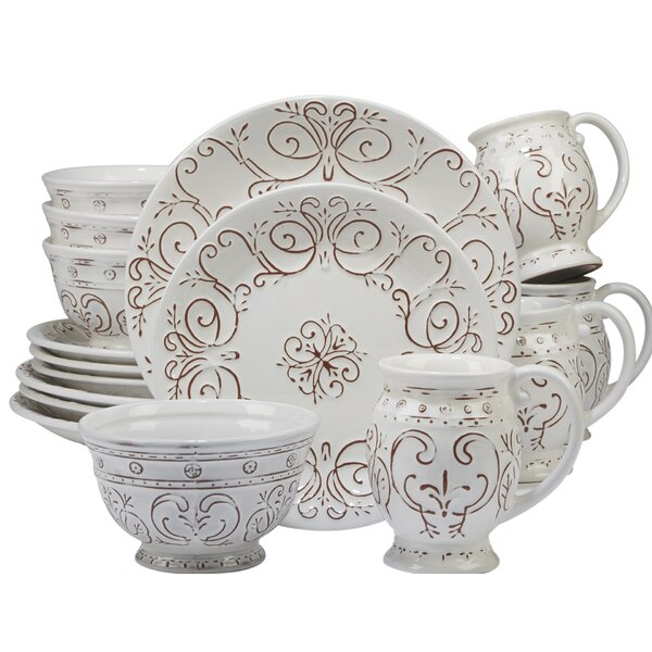 Lazo 16 Piece Dinnerware Set, Service for 4 by Ophelia & Co.