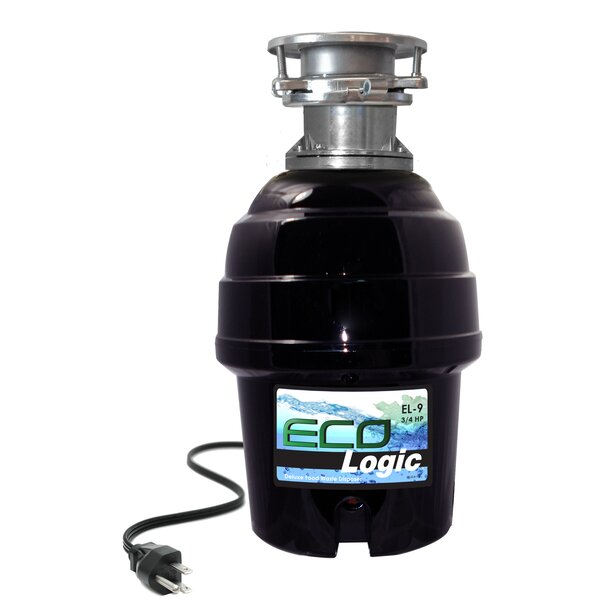 3/4 HP Batch Feed Garbage Disposal by Eco Logic