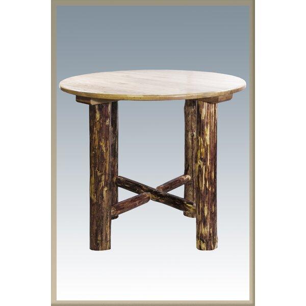 Tustin Solid Wood Pub Table by Loon Peak