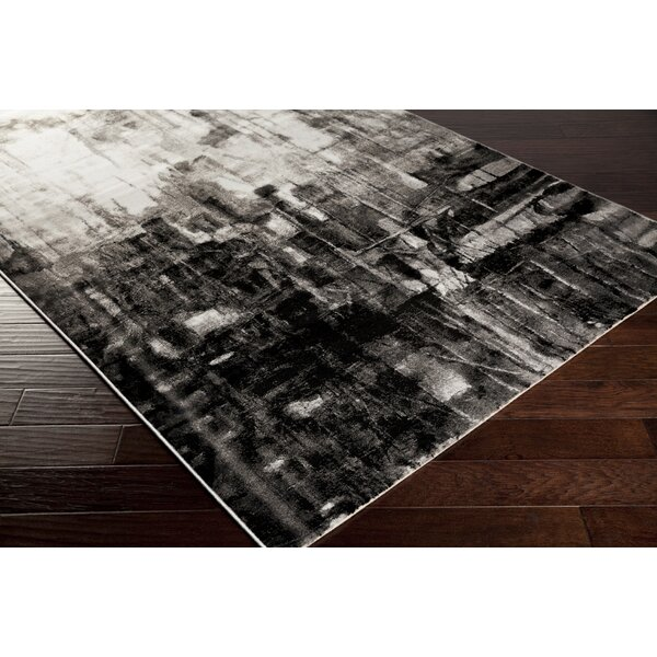 Roma Charcoal Area Rug by Zipcode Design