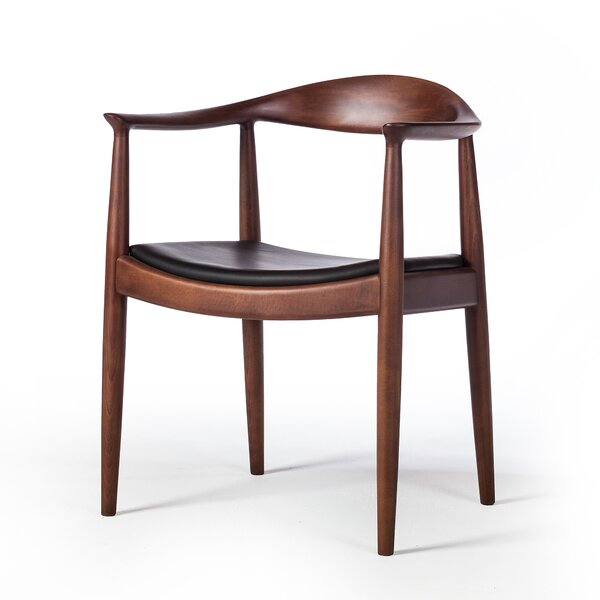 Hurtado Mid Century Solid Wood Dining Chair By Bloomsbury Market
