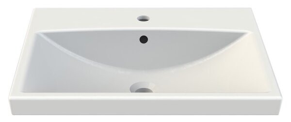 Elite Ceramic Rectangular Drop-In Bathroom Sink with Overflow by CeraStyle by Nameeks