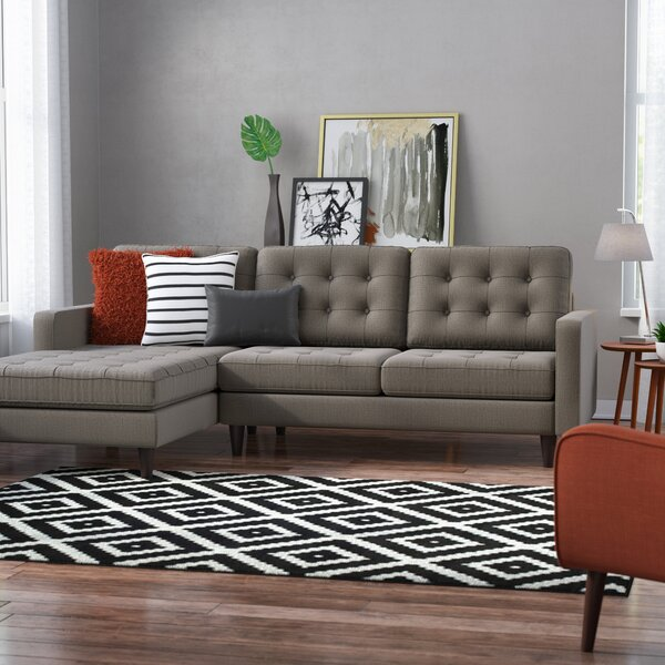 Aretha Sectional by Modern Rustic Interiors